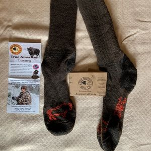 💥 BISON / BUFFALO wool socks !!